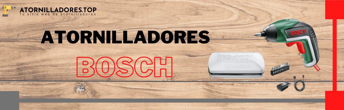 Comparativa de los mejores atornilladores de la marca Bosch