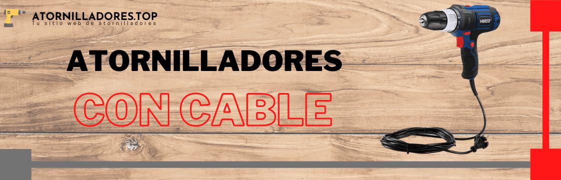 Comparativa de los mejores atornilladores eléctricos con cable del mercado